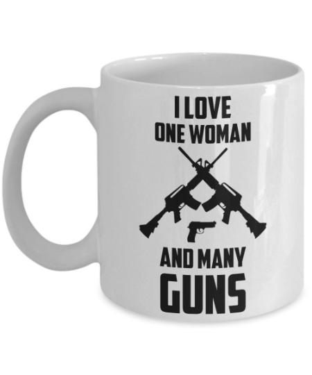 one-woman-many-guns-mug