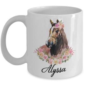 personalized-horse-mug
