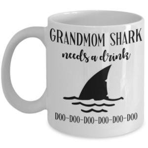 grandmom-shark-mug
