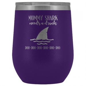 mommy-shark-wine-tumbler