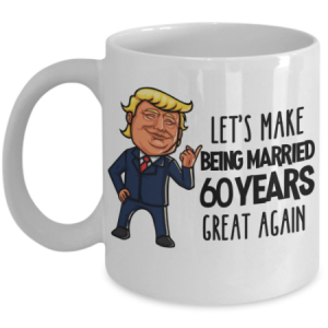 trump-60th-anniversary-mug