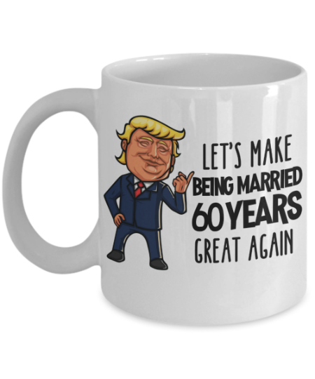 trump-60th-anniversary-mug
