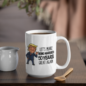 trump-50th-anniversary-mug