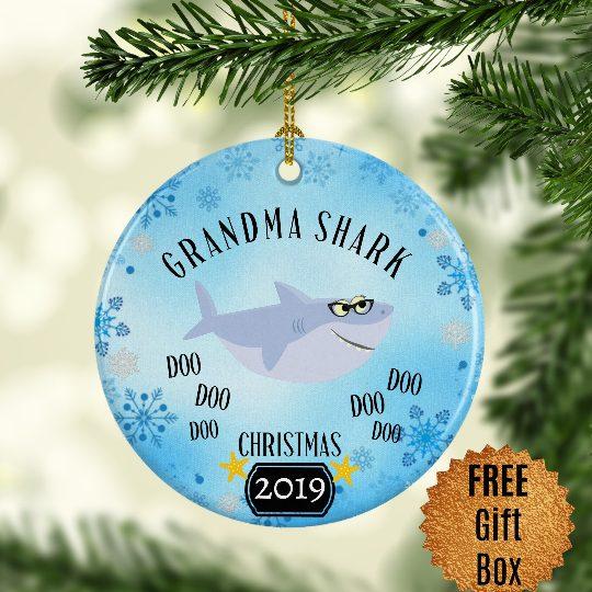 grandma-shark-ornament