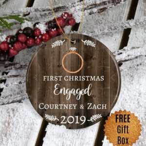 first-christmas-engaged-ornament