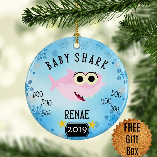 pink-baby-shark-ornament