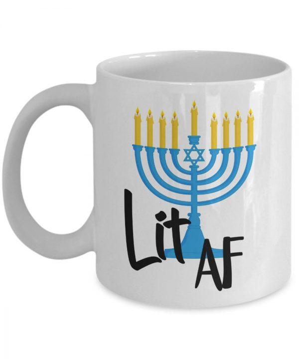 Menorah-mug
