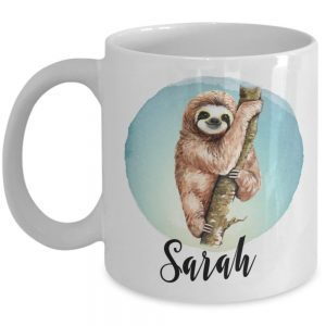 personalized-sloth-mug
