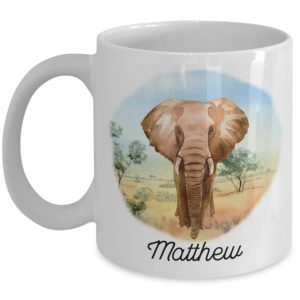 personalized-elephant-mug