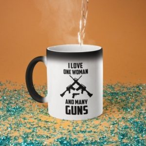 one-woman-many-guns-magic-mug