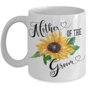 sunflower -coffee-mug