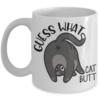 cat -butt-mug