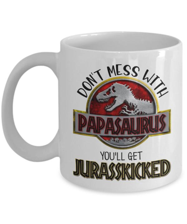 papasaurus-coffee-mug