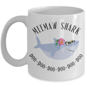 grandma-shark-coffee-mug