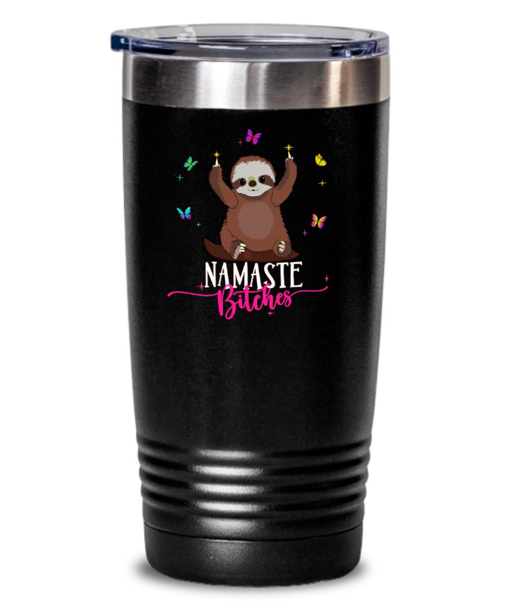 namaste-sloth-tumbler
