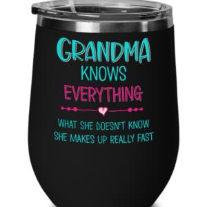 Grandma-knows-everything-wine-tumbler-
